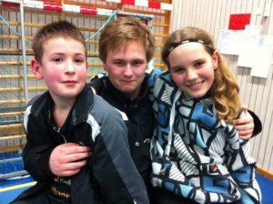 Frederik, Sebbe och Loa